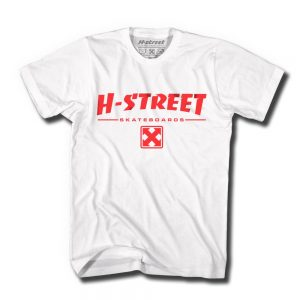 HST+80_s+Logo_+White+Tee+with+Red_+Front